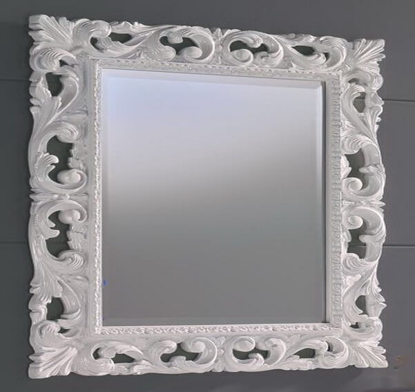 Nice-Baroque-Wall-Mirror-White