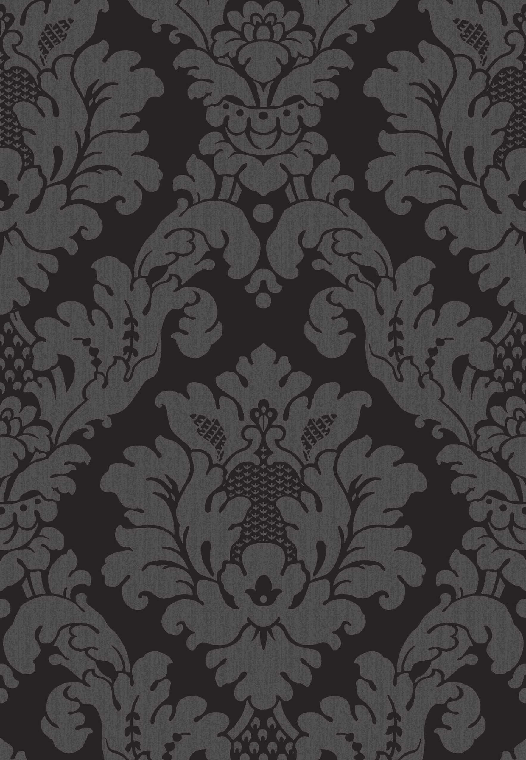 da-vinci-damask-black